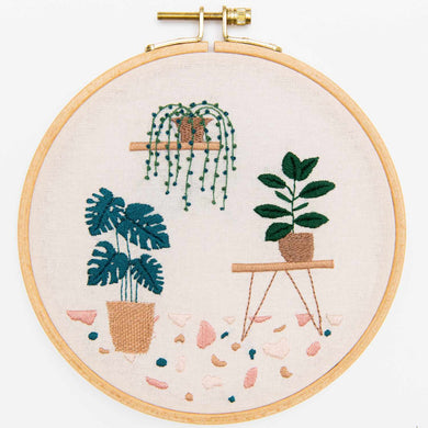Rico Design Needlecraft Rico Design Embroidery Kit Botanical (Slow Evenings) 4050051661749