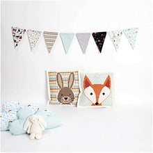 Load image into Gallery viewer, Rico Design Felt Hare Cushion Cross Stitch Kit - WOOLS OF NATIONS
