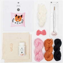 Load image into Gallery viewer, Rico Design Tiger Punch Needle Kit - WOOLS OF NATIONS