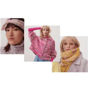 Rico Design Cardigan, Snood & Headband (3 in 1) - WOOLS OF NATIONS