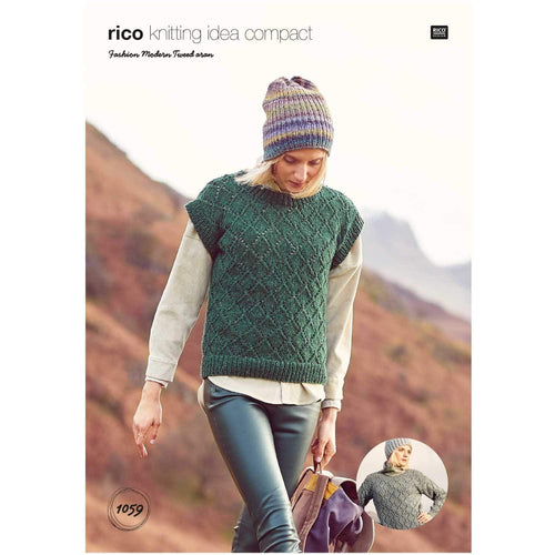 Rico Design Sweater, Tank Top & Cardigan (3 in 1) - WOOLS OF NATIONS