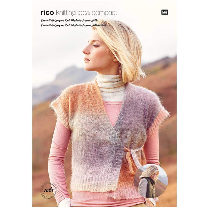 Rico Design Waistcoat & Shawl (2 in 1) - WOOLS OF NATIONS