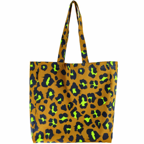 Rico Design Canvas Tote Bag Acid Leo - WOOLS OF NATIONS