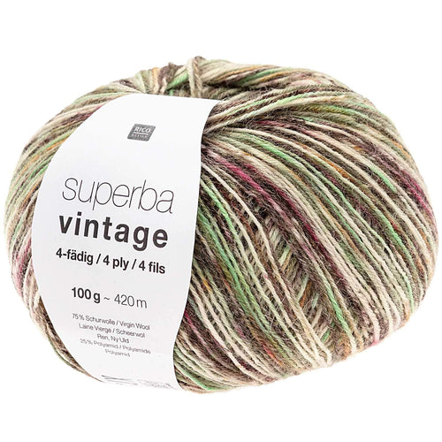 Rico Design Superba Vintage 4-Ply 100g 420m - WOOLS OF NATIONS