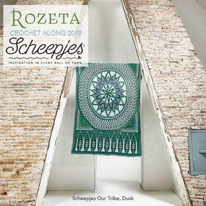 Scheepjes Rozeta Crochet Kit - Dusk - WOOLS OF NATIONS