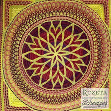 Load image into Gallery viewer, Scheepjes Rozeta Crochet Kit - High Noon - WOOLS OF NATIONS