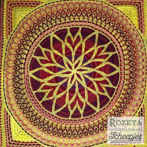 Scheepjes Rozeta Crochet Kit - High Noon - WOOLS OF NATIONS