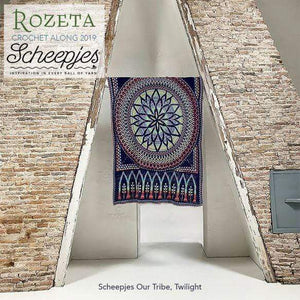 Scheepjes Rozeta Crochet Kit - Twilight