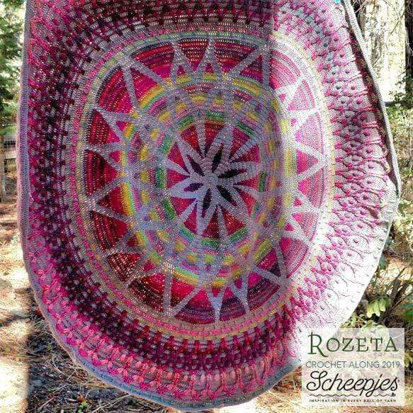 Scheepjes Rozeta Crochet Kit - Witching Hour - WOOLS OF NATIONS
