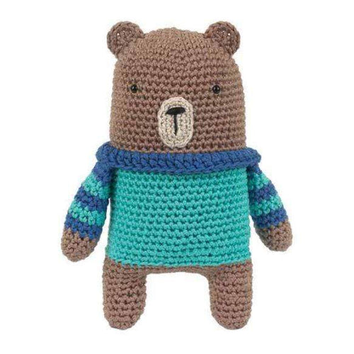 Tuva Boris The Bear Amigurumi Kit - WOOLS OF NATIONS