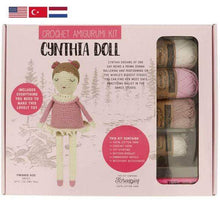 Load image into Gallery viewer, Tuva Cynthia Doll Amigurumi Kit - WOOLS OF NATIONS