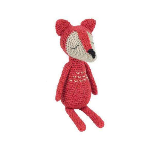 Tuva James The Fox Amigurumi Kit - WOOLS OF NATIONS