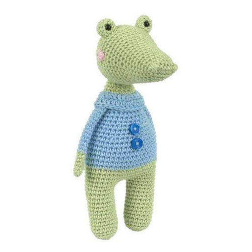 Tuva Kobi The Crocodile Amigurumi Kit - WOOLS OF NATIONS