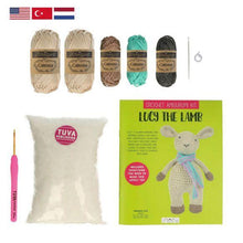 Load image into Gallery viewer, Tuva Lucy The Lamb Amigurumi Kit - WOOLS OF NATIONS