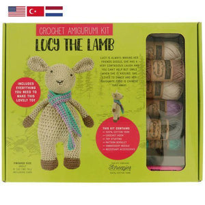 Tuva Lucy The Lamb Amigurumi Kit - WOOLS OF NATIONS