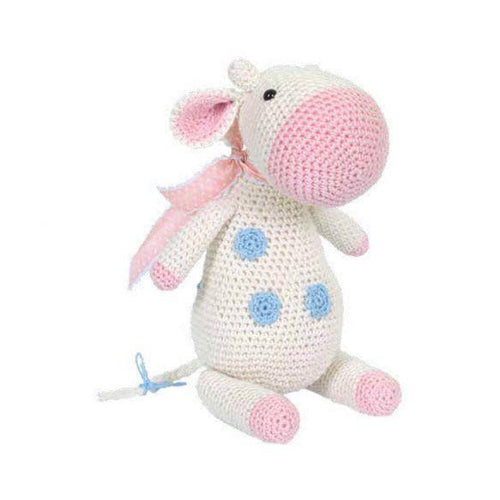 Tuva Meadow The Cow Amigurumi Kit - WOOLS OF NATIONS