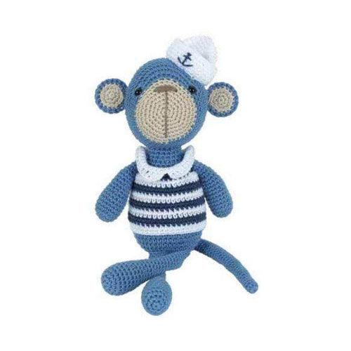 Tuva Milo The Monkey Amigurumi Kit - WOOLS OF NATIONS