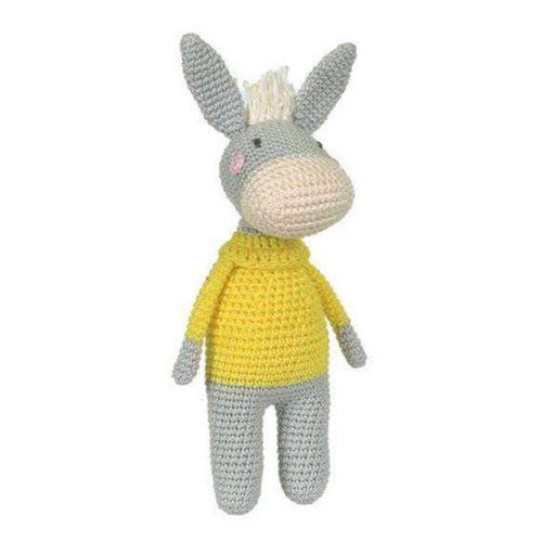 Tuva Otis The Donkey Amigurumi Kit - WOOLS OF NATIONS