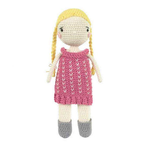 Tuva Scarlett Doll Amigurumi Kit - WOOLS OF NATIONS