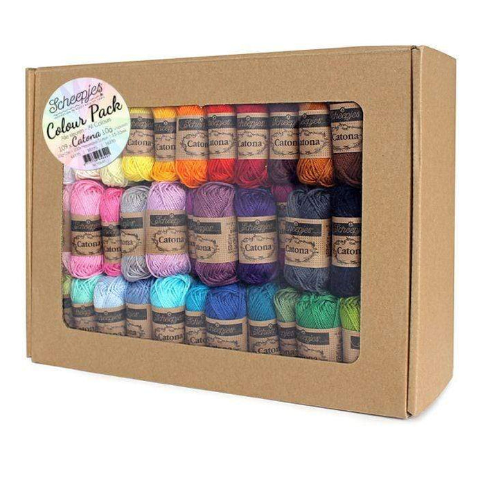 Scheepjes Catona Colour Pack 109x10g - WOOLS OF NATIONS