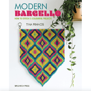 Modern Bargello: How to Stitch 15 Colourful Projects by Tina Francis - WOOLS OF NATIONS