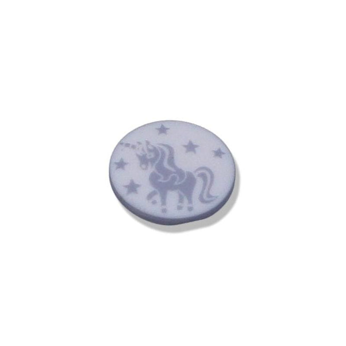 Buttons With Unicorn Motifs