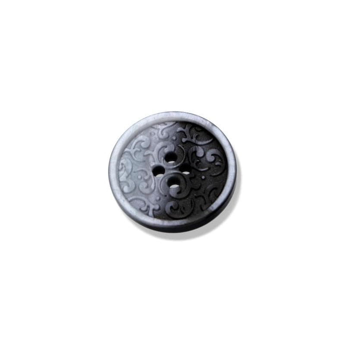 Button With Engraved Classic Motif 18-23 mm - WOOLS OF NATIONS