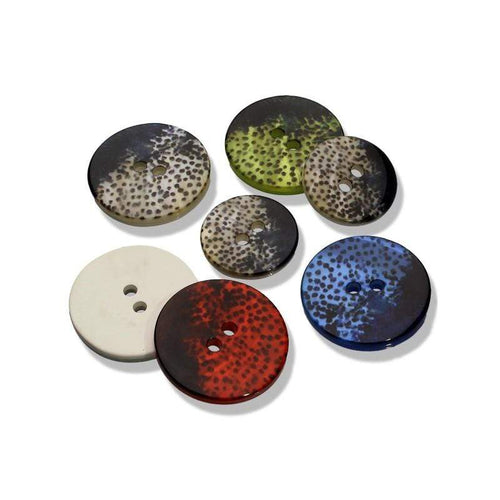 Speckled Button 18-23 mm - WOOLS OF NATIONS