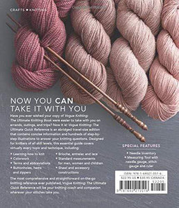 Vogue Knitting the Ultimate Quick Reference (Revised) - WOOLS OF NATIONS