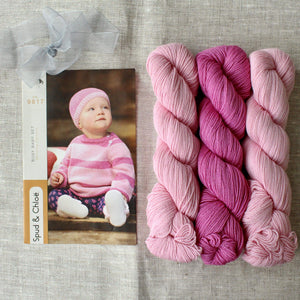 Spud & Chloë Baby Busy Set Knit Kit - WOOLS OF NATIONS
