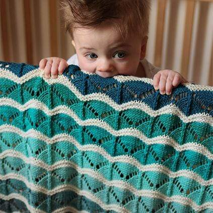 Tin Can Knits - Bounce Blanket (PDF)