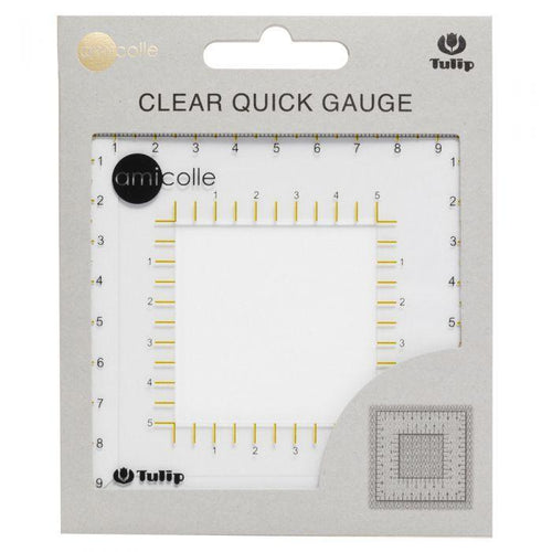 Tulip Clear Quick Gauge - WOOLS OF NATIONS