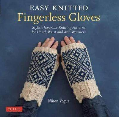 Easy Knitted Fingerless Gloves: Stylish Japanese Knitting Patterns