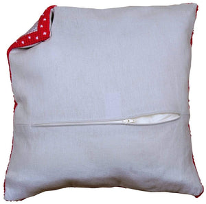 Cushion Back With Zipper - WOOLS OF NATIONS