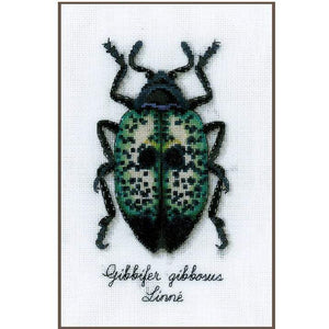 Vervaco - Blue Beetle Cross Stitch Kit - WOOLS OF NATIONS