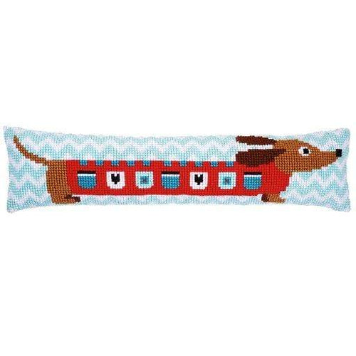 Vervaco - Cute Dog Draft Stopper Cross Stitch Kit - WOOLS OF NATIONS