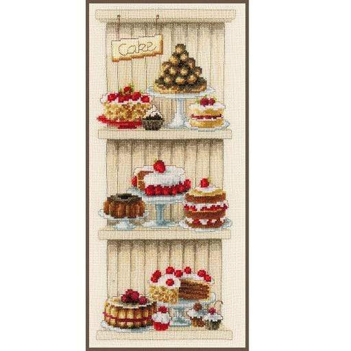 Vervaco - Delicious Cakes Cross Stitch Kit - WOOLS OF NATIONS