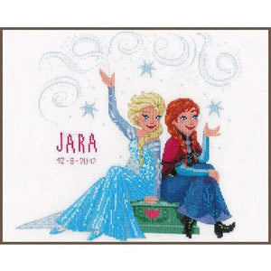 Vervaco - Disney Sisters Forever Cross Stitch Kit - WOOLS OF NATIONS