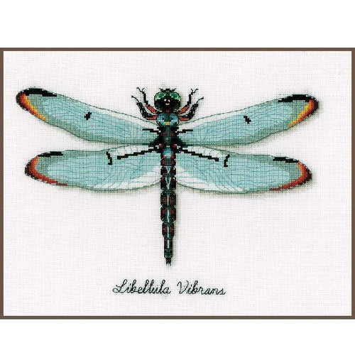 Vervaco - Dragonfly Cross Stitch Kit - WOOLS OF NATIONS