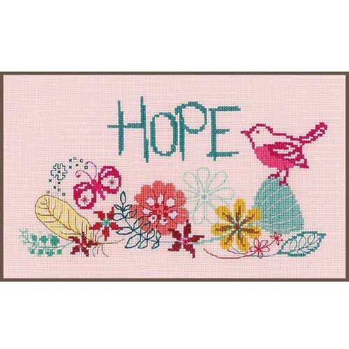 Vervaco - Hope Cross Stitch Kit - WOOLS OF NATIONS