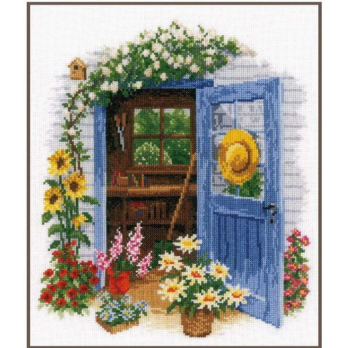 Vervaco - My Garden Shed Cross Stitch Kit - WOOLS OF NATIONS