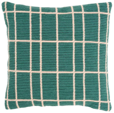 Vervaco - Squares Angled Clamping Stitch Cushion Kit - WOOLS OF NATIONS