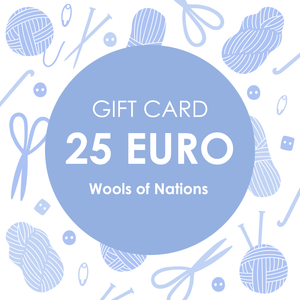 Gift Card 25 - WOOLS OF NATIONS