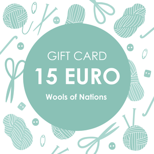 Gift Card 15 - WOOLS OF NATIONS