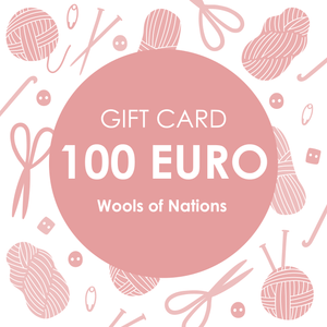 Gift Card 100 - WOOLS OF NATIONS