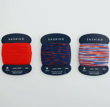 Laden Sie das Bild in den Galerie-Viewer, Daruma Card Sashiko Thread - Fine 40m - WOOLS OF NATIONS