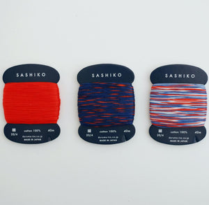 Daruma Card Sashiko Thread - Fine 40m - WOOLS OF NATIONS