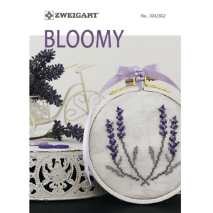 Zweigart - Pattern Book No. 104/302 - Bloomy (Cross Stitch Charts) - WOOLS OF NATIONS