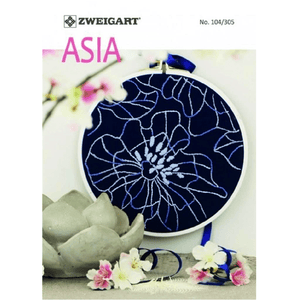 Zweigart - Pattern Book No. 104/305 - Asia (Cross Stitch & Embroidery Patterns) - WOOLS OF NATIONS