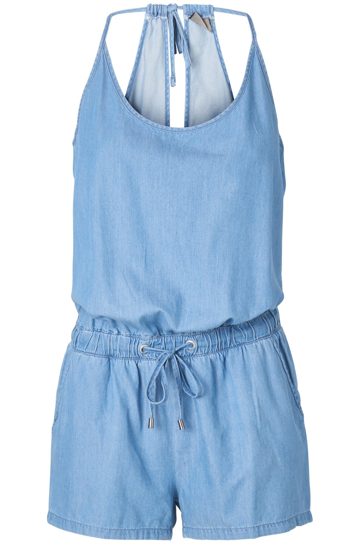 CHAMBRAY SHORT JUMPER